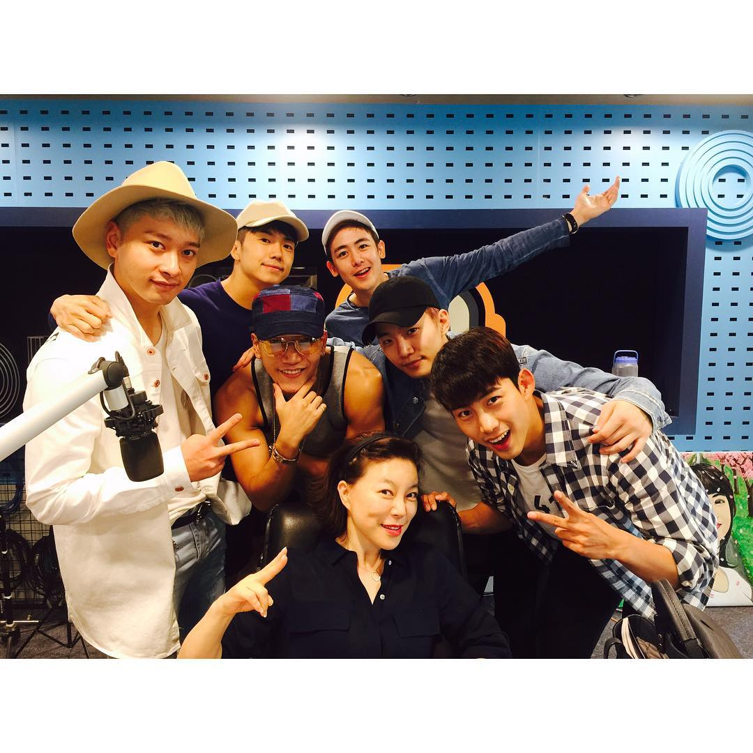 [IG] 160913 SBS PowerFM <Choi Hwajung's Power Time> (2PM) https://t.co/aaaWv2pW6Q https://t.co/KbnpPHTohM