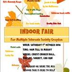 Come & enjoy our Indoor Fair 9 -12 on Sat 1st Oct @ Christchurch #Purley, #Croydon. Details: https://t.co/FdgNX9XWSv https://t.co/l0z5h1gDrV