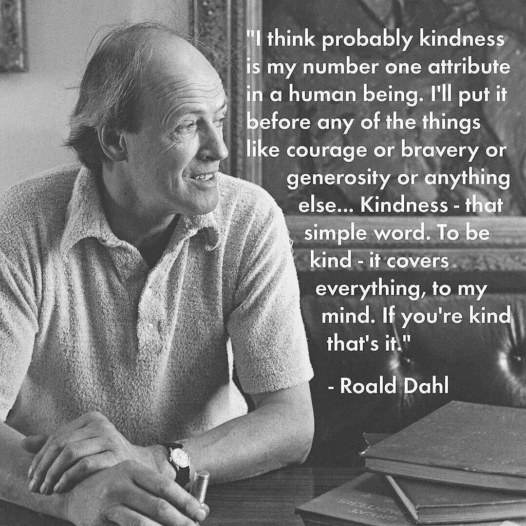 #RoaldDahlDay my absolute favorite author from childhood. as adults, we could learn a thing or 2 from him as well ❤️ https://t.co/I8AAcO8nfP
