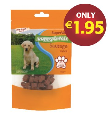 Supervalu Puppy treats https://t.co/9vPjn6dICt