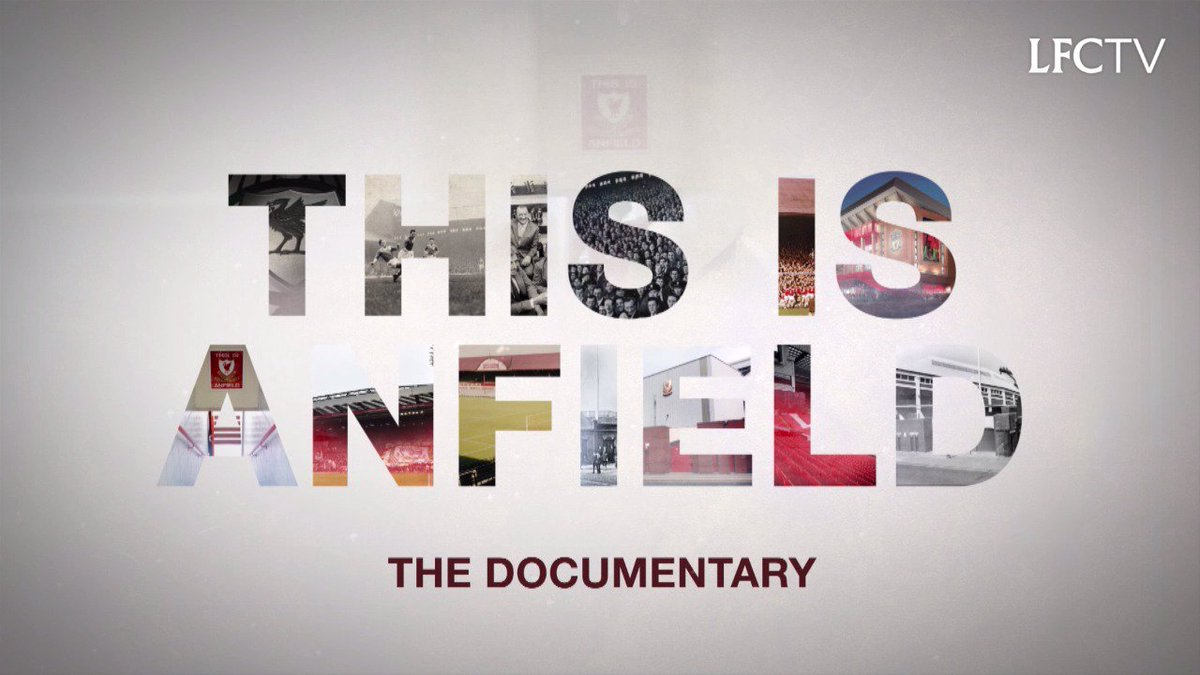 Steven Gerrard on what Anfield means to him...  This Is Anfield: The Documentary airs tonight at 8pm BST on @LFCTV