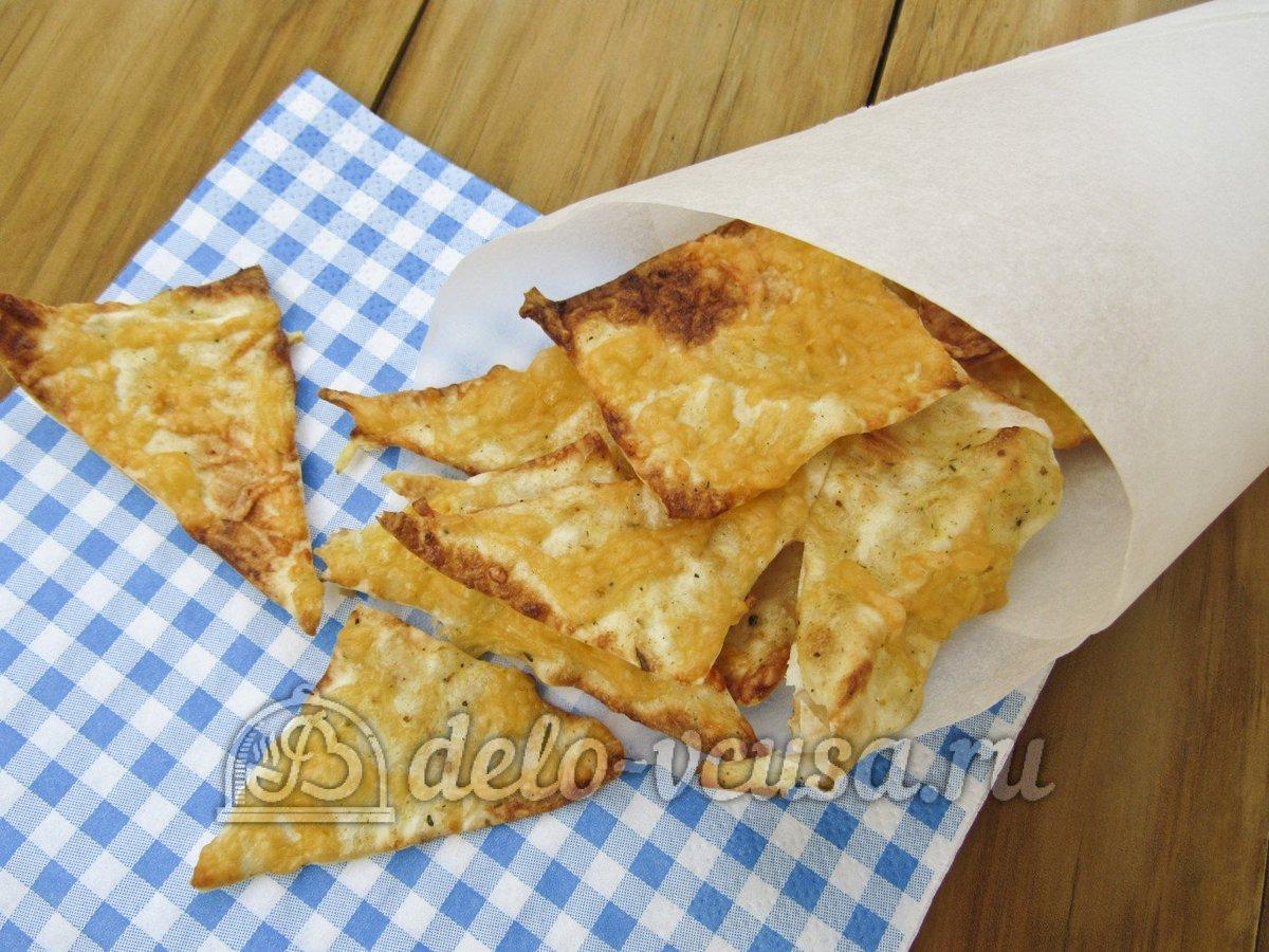 Сырные чипсы рецепт пошагово