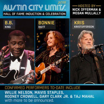 Looking forward to honoring my good friend @TheBonnieRaitt at the @acltv Hall of Fame on October 12th! https://t.co/w1DvBX6e8f