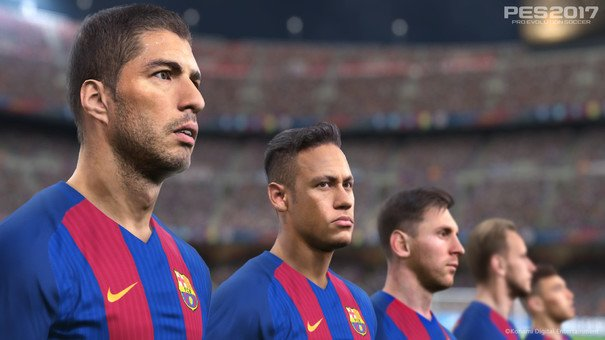 I've been playing a lot of PES 2017. It's really good. I know we say that every year, but... https://t.co/yadGEu2EEL https://t.co/UTBZkjySf5