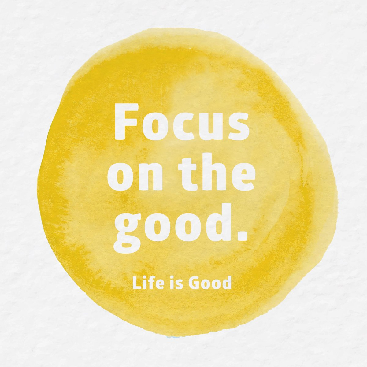 Today is #PositiveThinkingDay. We focus on the good, because what we focus on grows. What's good today? #GROWtheGood https://t.co/LobGzzsfQM