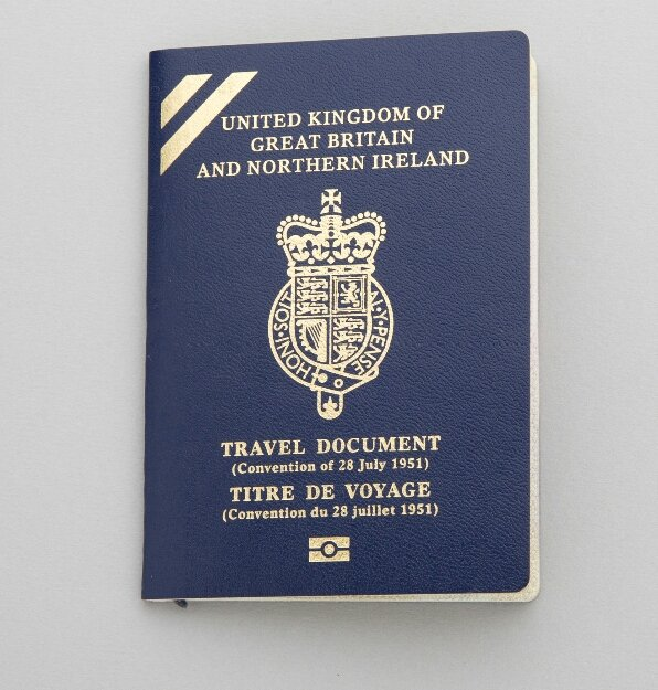 So Apparently The Home Office Does Issue Blue Passports