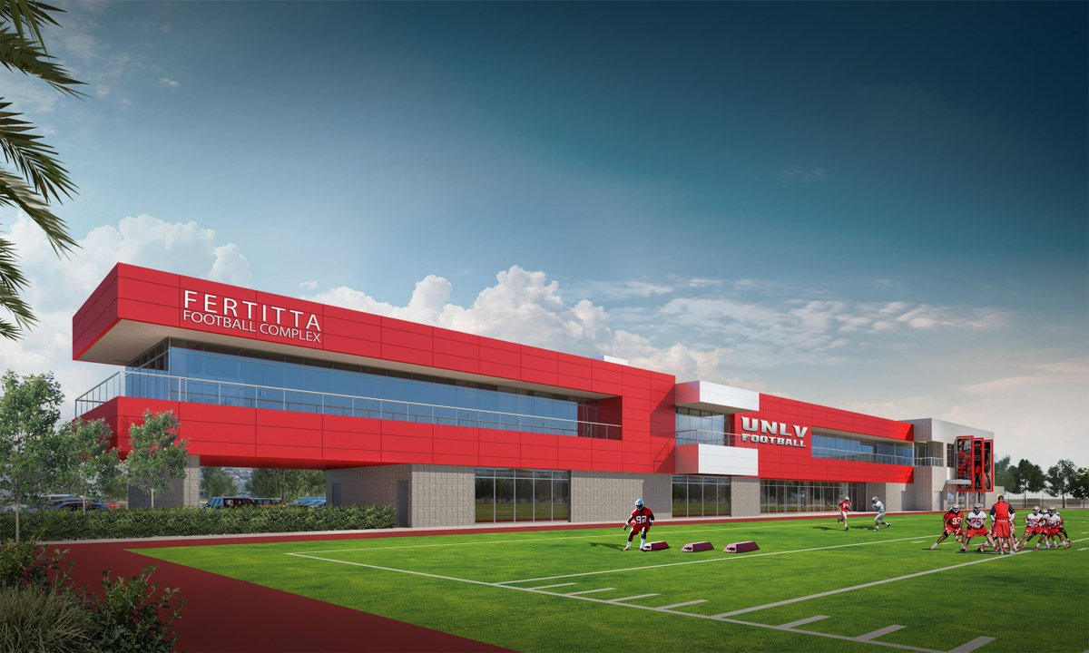 BREAKING: UNLV Athletics gets $10 million gift from Fertitta family for football training facility. #UNLV https://t.co/pb29lPvhyA