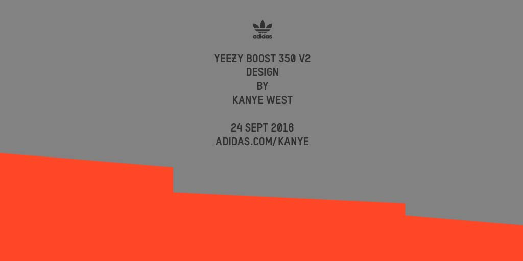 #YEEZYBOOST 350 V2 by @kanyewest. September 24th. https://t.co/uexzdqP6hT