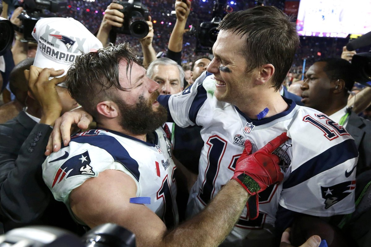 Julian Edelman Is Very Protective Of Tom He Doesnt Want