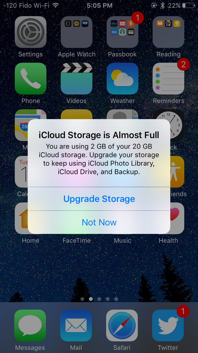Go home #iCloud you're drunk. #iOS10 https://t.co/pxOJKQX6AO