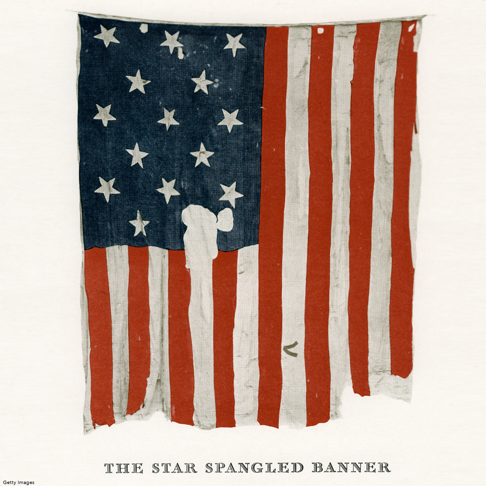 "Today we celebrate 202 years of ""the star-spangled banner ..."
