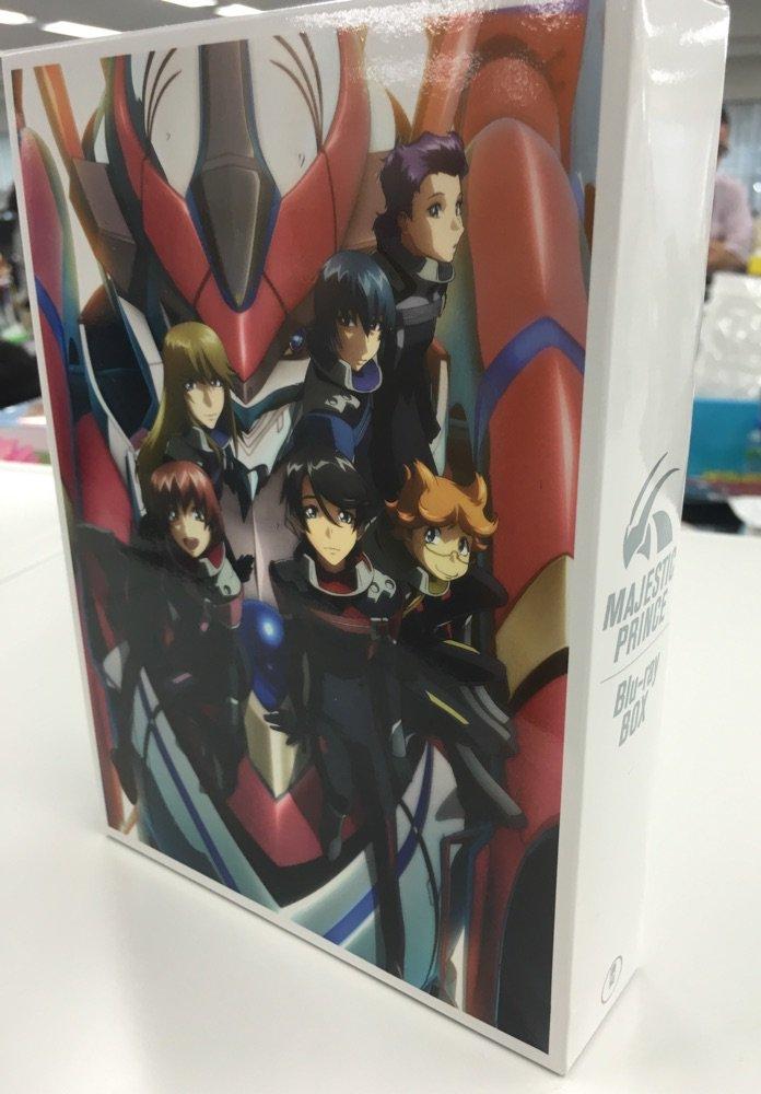 今日9/14(水)『銀河機攻隊マジェスティックプリンス』Blu-ray BOX発売!TVアニメ全24話収録、CDドラマ全