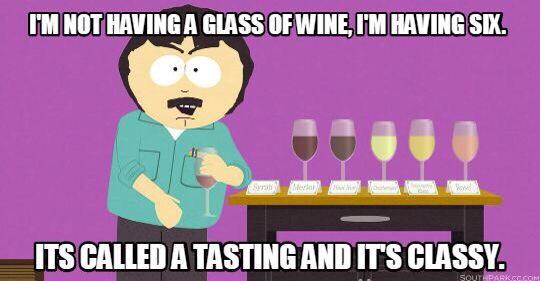 test Twitter Media - I am not having a glass of #wine, I am having six! It's called a tasting and it's classy! #winehumor #winelovers https://t.co/UVvoYYuDRs