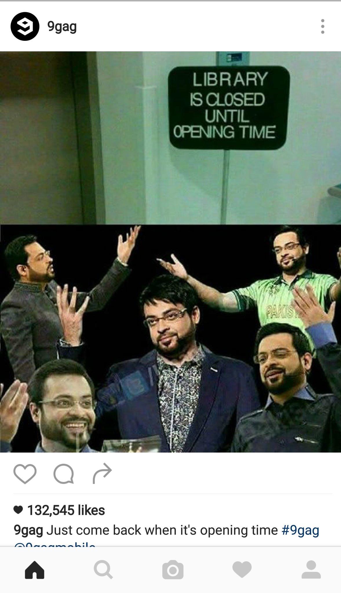 Image result for Amir Liaquat 9Gag