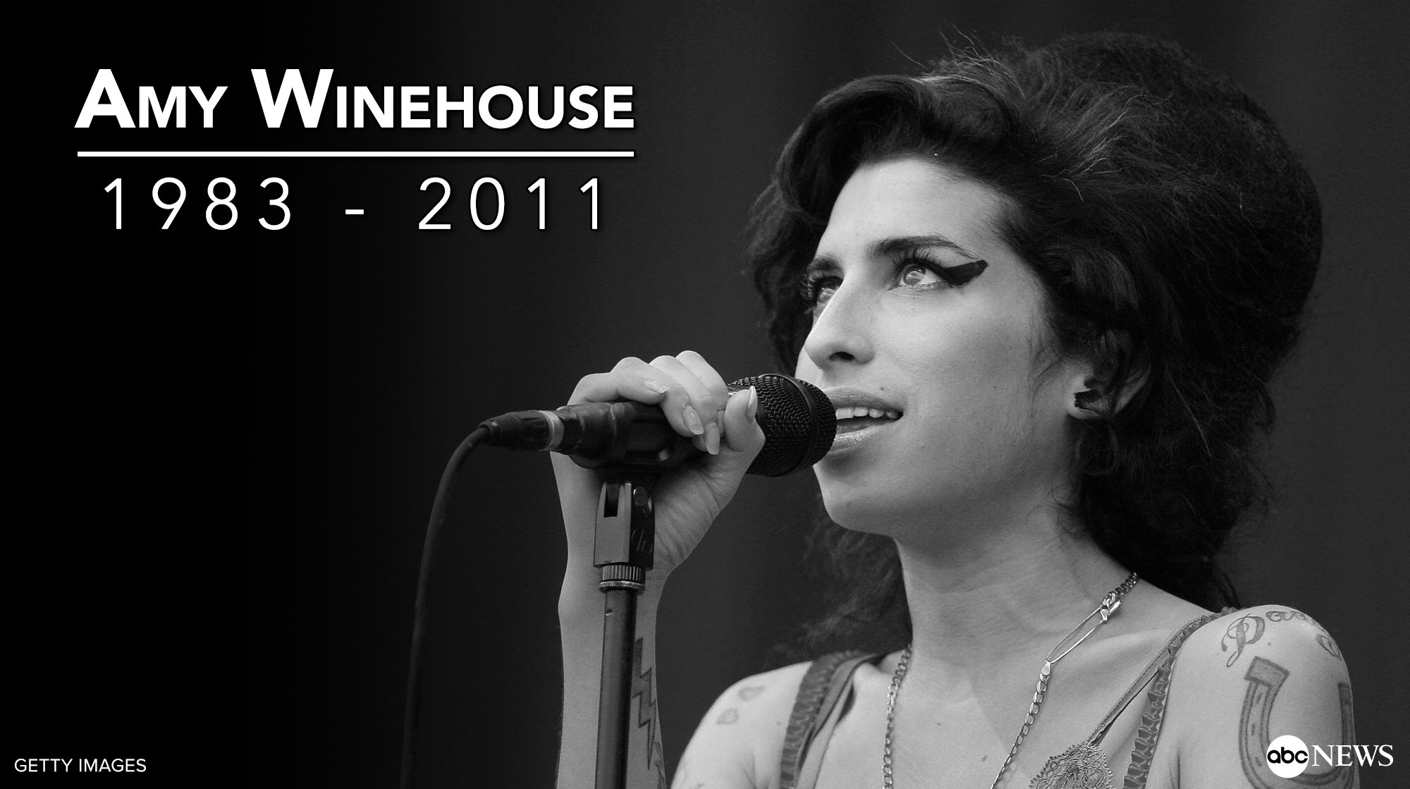 Happy birthday, Amy Winehouse.   The musician would have turned 34 years old today. Rest in peace...