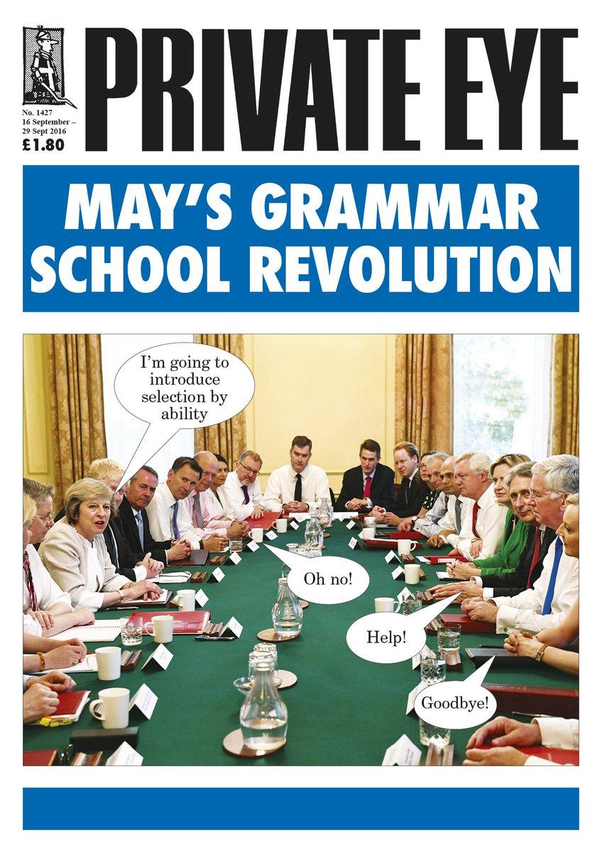 May's Grammar School Revolution - Eye 1427 out now! https://t.co/TCbyucUTca