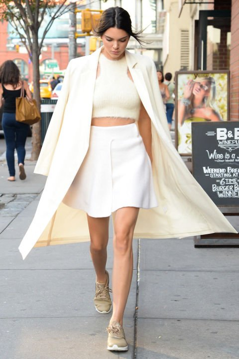 Today Were Taking Late Summer Street Style Inspiration From Kendall Jenner