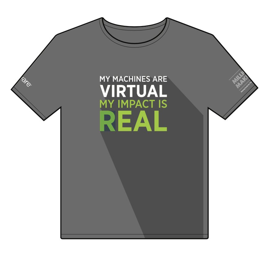 Going to #VMworld Europe? Be sure to buy our exclusive T-Shirt in aid of @PrincesTrust from the onsite shop, I will! https://t.co/vNpjYoTwoC