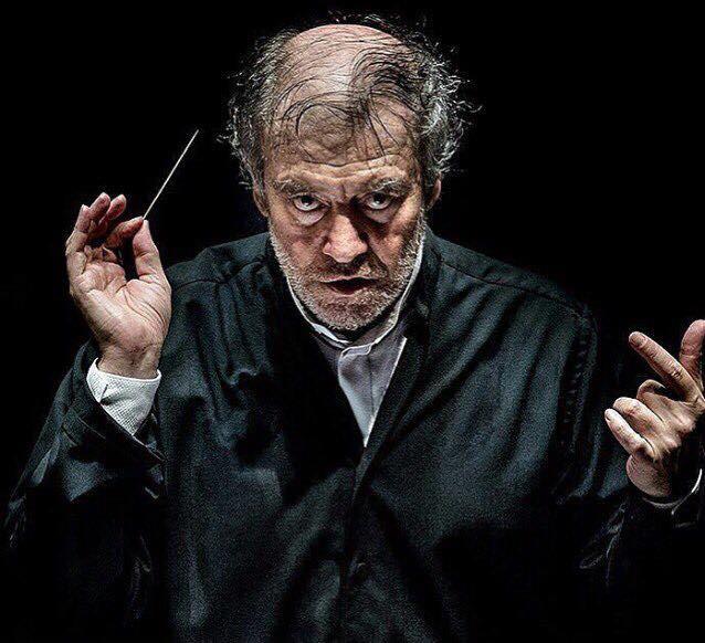 Wow! The face of Maestro Gergiev during the @rdamphil Gergiev Festival - #rpho #rotterdam  Bravo @andreasterlaak! https://t.co/1c73EO3dPu