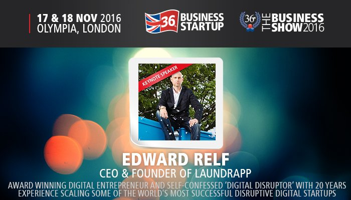 Award-winning digital entrepreneur @edrelf is at #TBS2016! A talk on the power of the pivot: https://t.co/nZ217YOAAa https://t.co/Vyf2kkGhaL