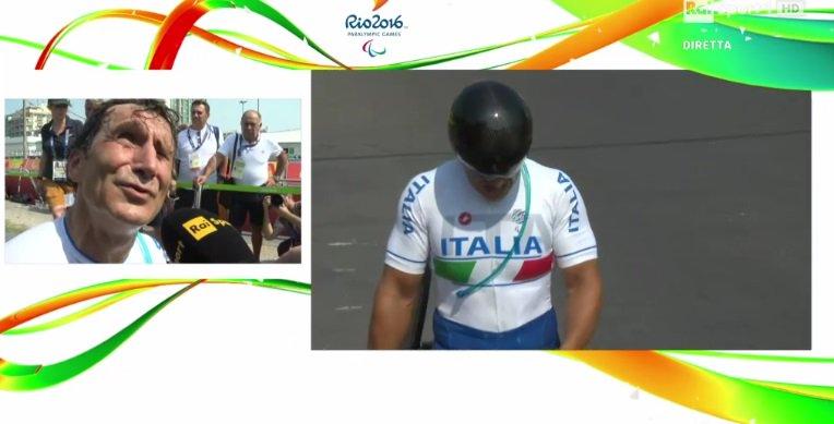 Immenso #AlexZanardi !!! ORO a #ParalympicsRio2016 #handbike @FormulaOneWorld https://t.co/KaPrCX9So1