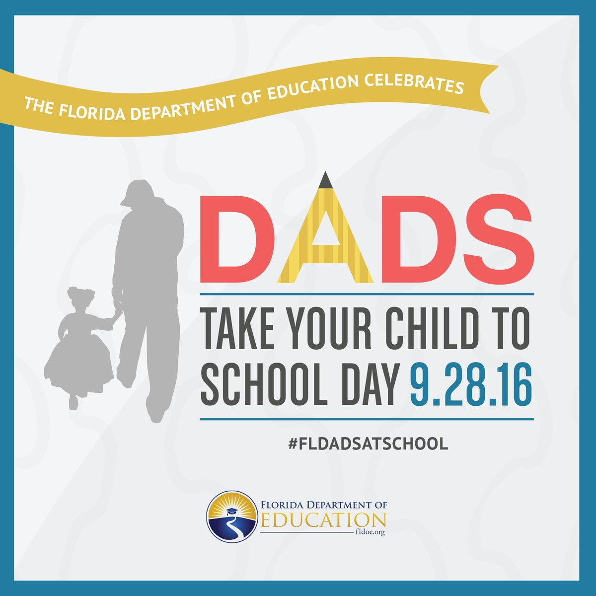 #FLFamilies 9/28/16 is #FLDadsatSchoolDay! Fathers, grandfathers & other male role models are invited to take part! https://t.co/TSf5kGAy9N