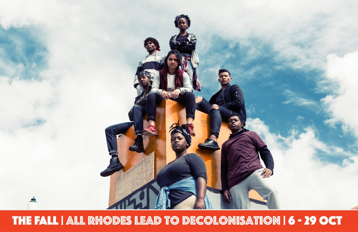 #TheFall - from 6 - 29 Oct. UCT graduates share their experiences during the #RhodesMustFall & #FeesMustFall mvts. https://t.co/fizntvLqGs