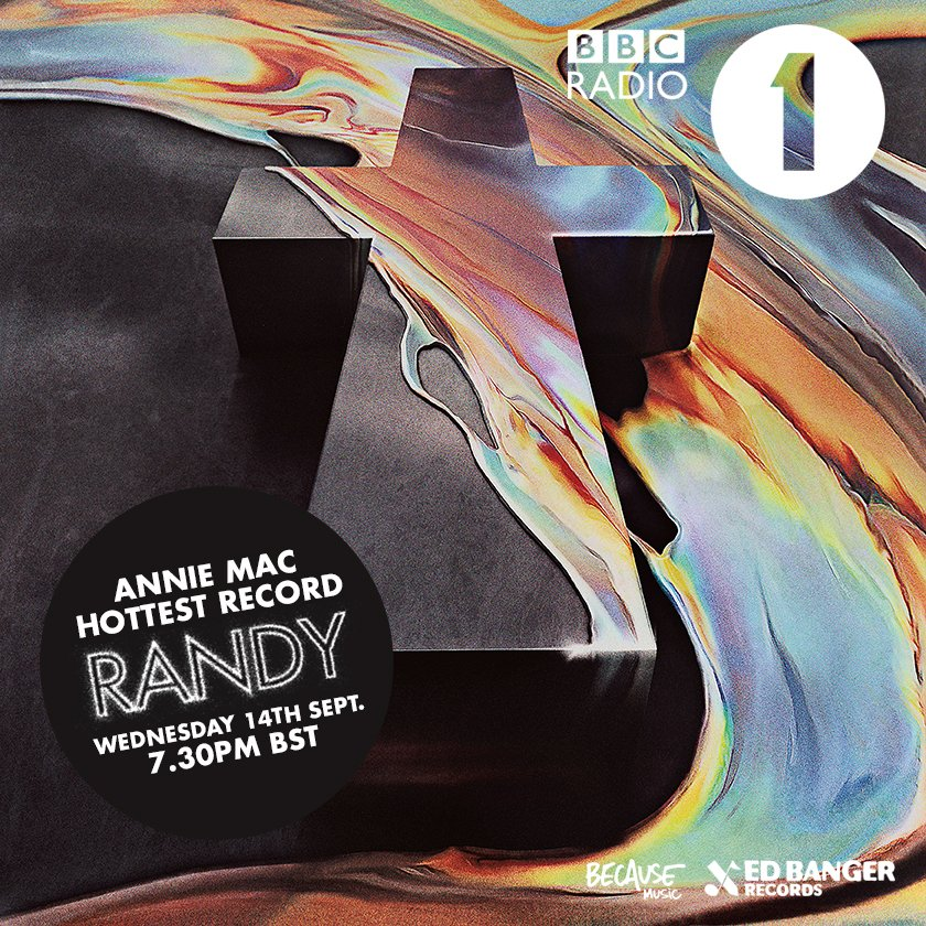 •RANDY• new single taken from @JusticePourTous LP •WOMAN•  PREMIERING TONIGHT @anniemacdj HOTTEST RECORD @bbcradio1 https://t.co/mSQKd79qqP