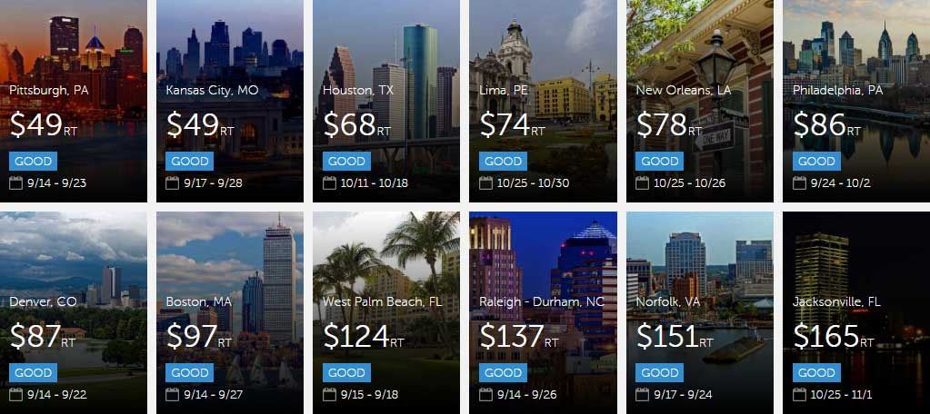Today's deals from #Atlanta! Explore now before they're gone!  https://t.co/JXYVIGnSxk  #cheapflights https://t.co/rVuhpWrROm