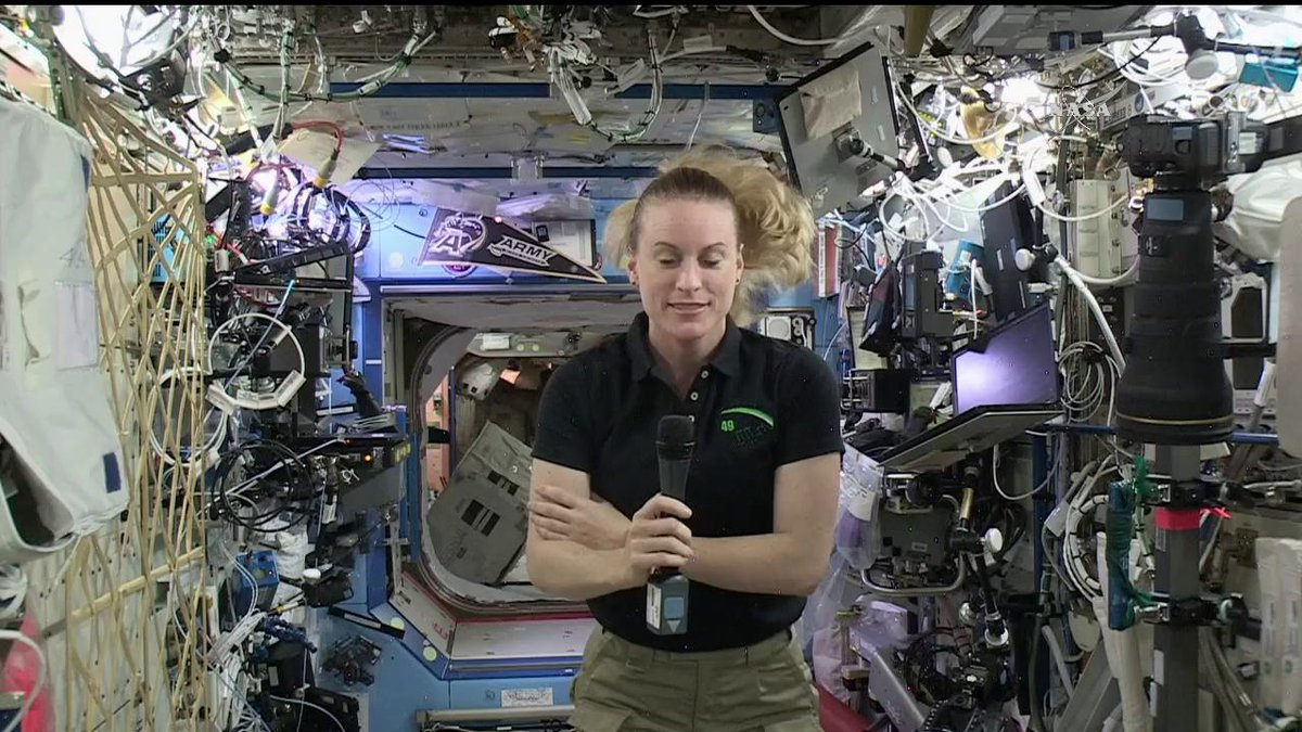 Astronaut: a profession where you can be a scientist in the morning and an electrician in the evening. #AstroKate https://t.co/boShbXtN53