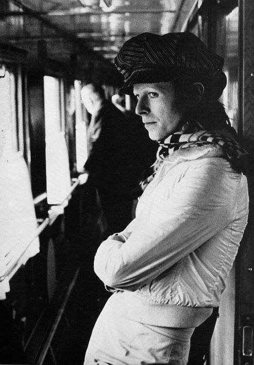 David Bowie on the Siberian Express, Russia, 1973. https://t.co/IhKZWY5zaf