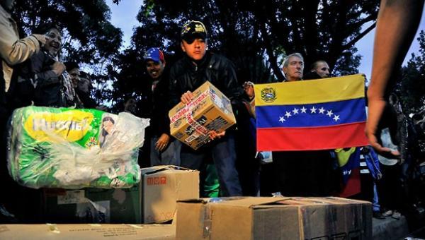 Resultado de imagen para ayuda humanitaria para venezuela