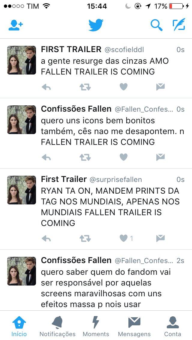 FALLEN TRAILER IS COMING