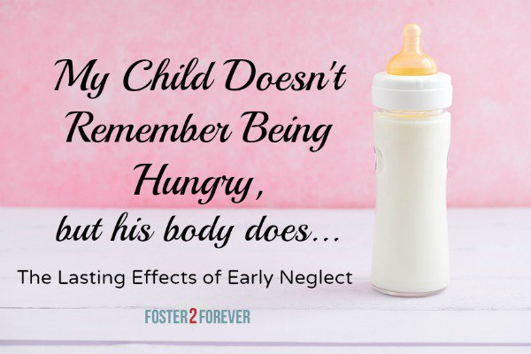 My Child Doesn't Remember the Neglect as an Infant, But His Body Does - https://t.co/FMt0zCLZdp @HuffPostParents https://t.co/FZVolyS8Vc