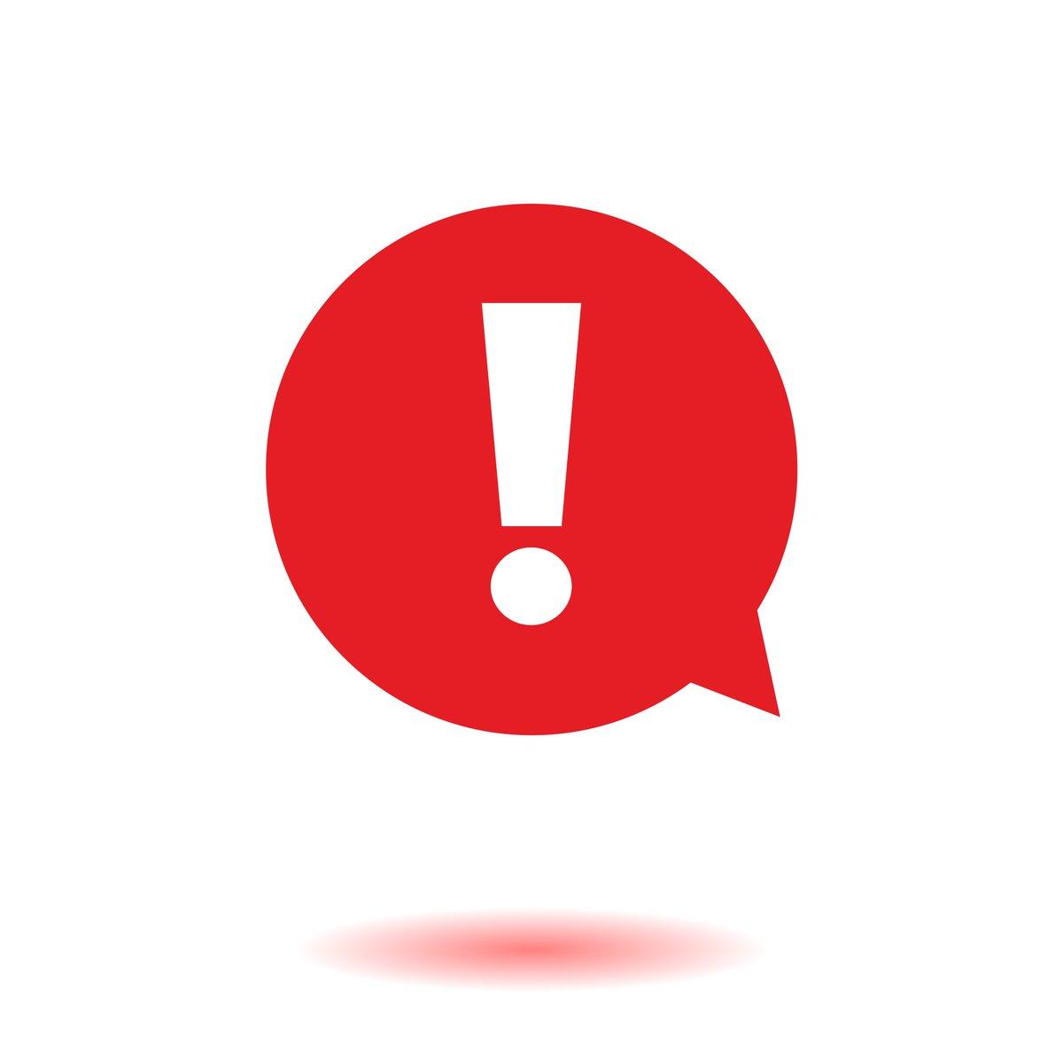 Как сделать красный восклицательный знак вконтакте