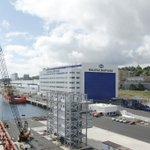 Want a peek inside our #Halifax Shipyard? Watch a timelapse of the #AOPS build progress https://t.co/ws7KdsOWbK https://t.co/kRFupQSN6l