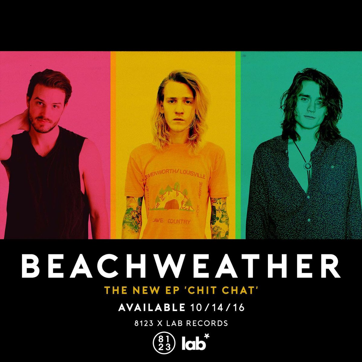 NEW - Delighted to welcome @BeachWeather to LAB! New EP 'Chit Chat' releases via LAB / @8123 in UK on October 14. https://t.co/iGLUoxz0aH