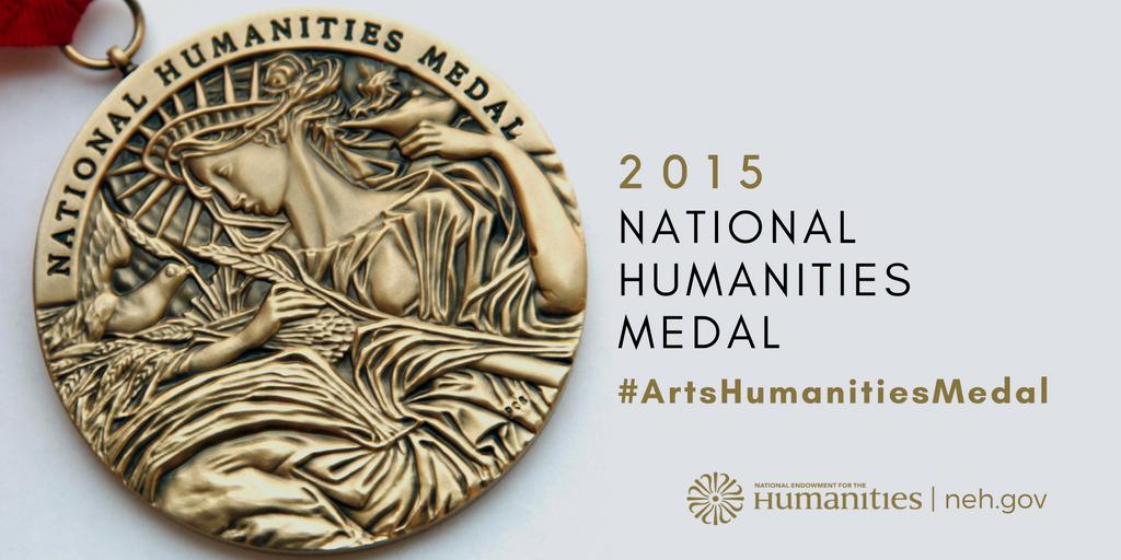 .@POTUS announced the 2015 National Humanities Medalists #artshumanitiesmedal https://t.co/DcXdz0EWhu https://t.co/xwQrtXemIE