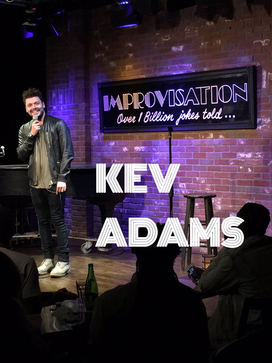.@kevadamsss cracks us up on @ComedyJuice @HollywoodImprov https://t.co/FEMHwlHb30