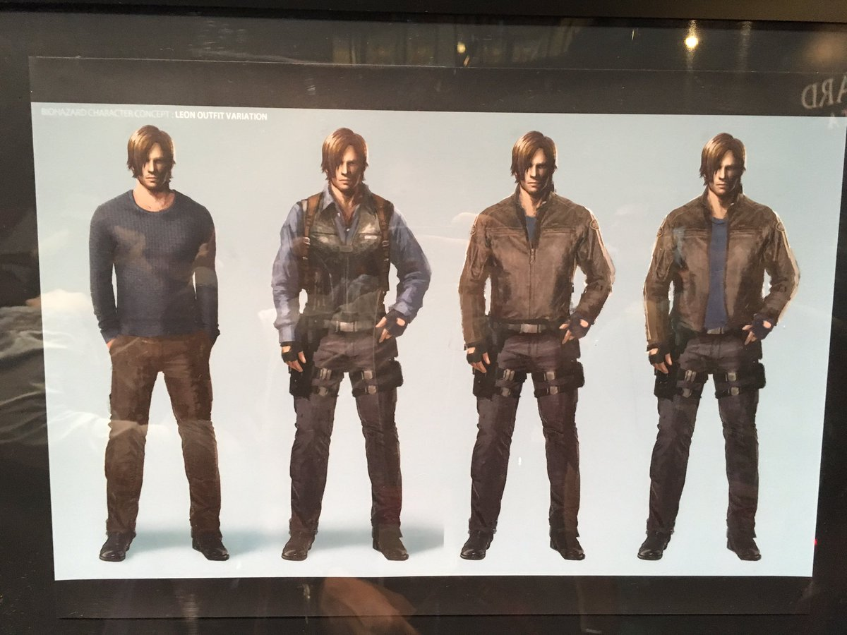 Resident Evil Vendetta Chris and Leon concept art #tgs https://t.co/gJ4gJtxw1v