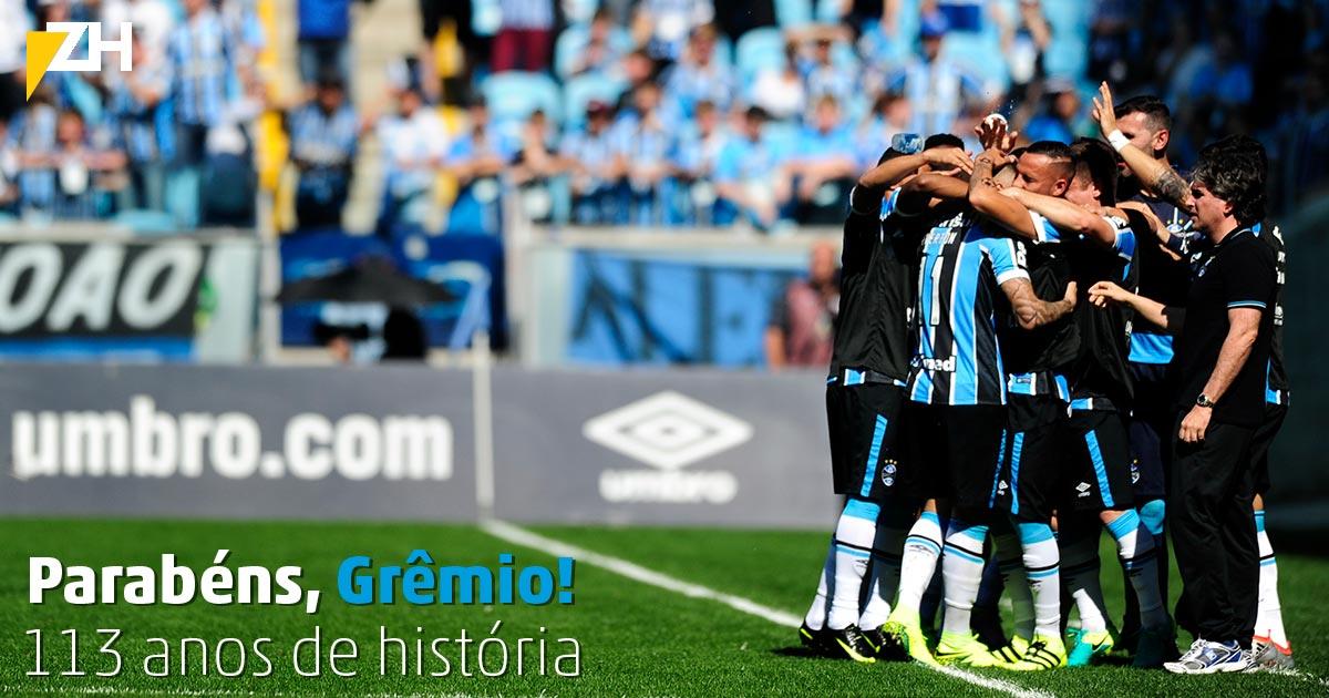 #Grêmio113Anos: Gr &ecirc ;mio 113 Anos