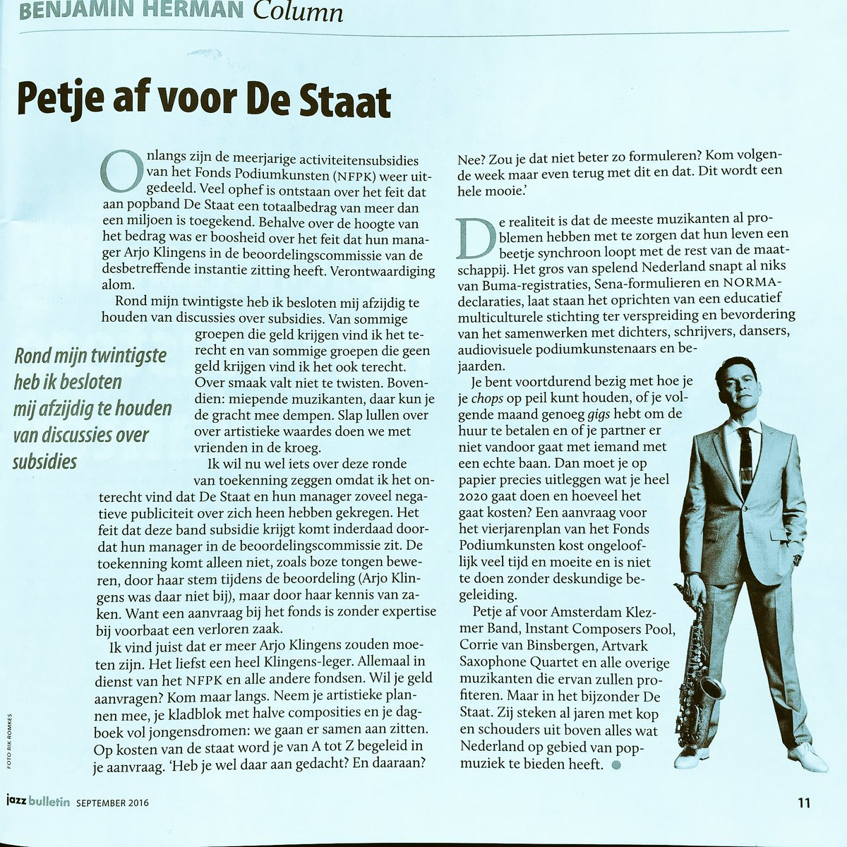 column over @destaat en @FPodiumkunsten in nieuwste #jazzbulletin https://t.co/KdoS5oMIfw
