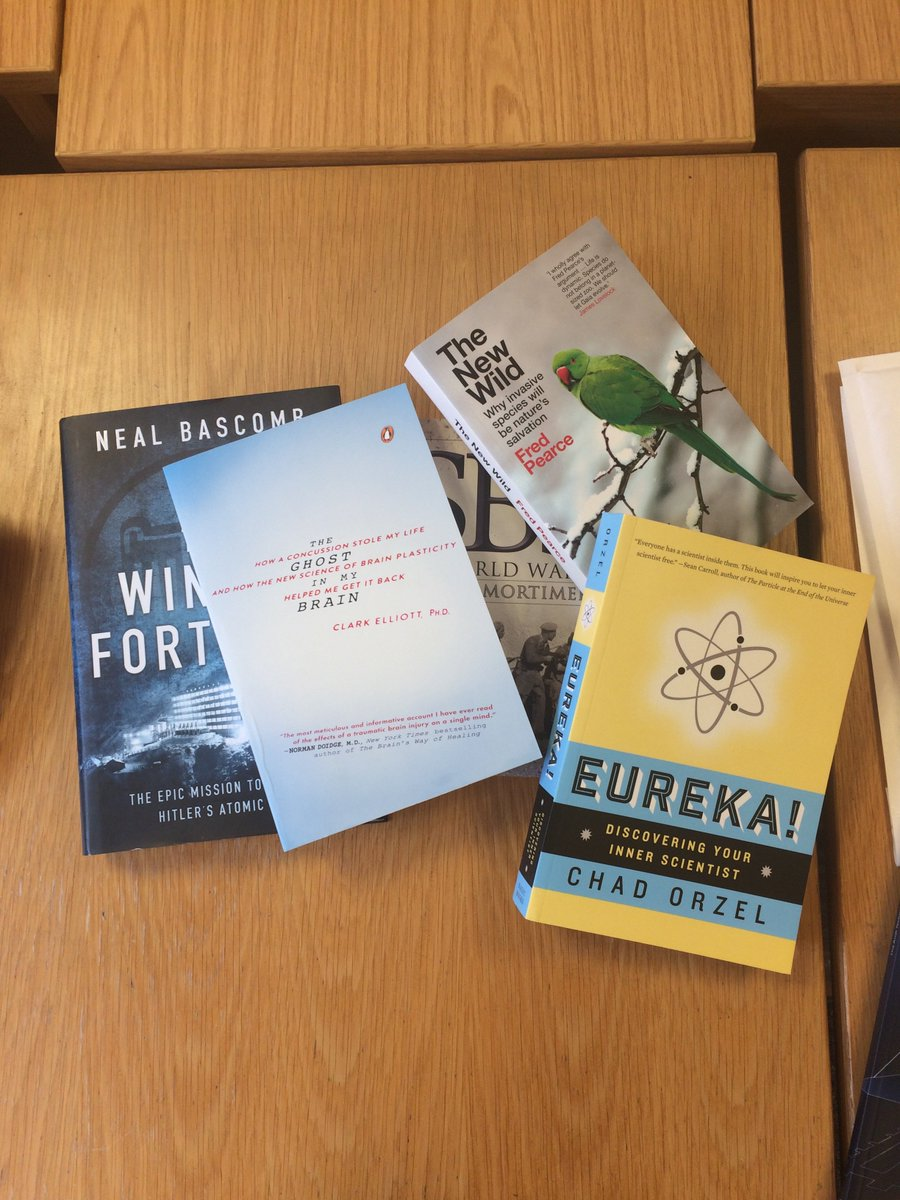 Calling all scientists! RT and follow for a chance to win £50's worth of science books! #giveaway #FreebieFriday https://t.co/qlrO72gAba