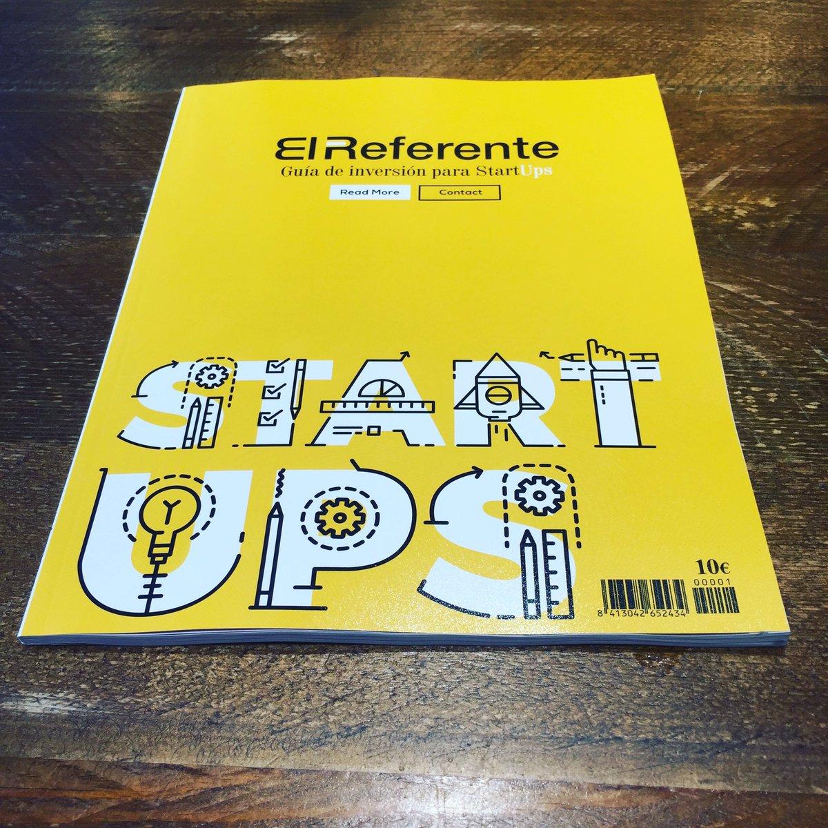 NOTICIÓN: mañana lanzamos en toda España la primera Guía de Inversión para #startups #emprendedores https://t.co/6AIrTz31Xt