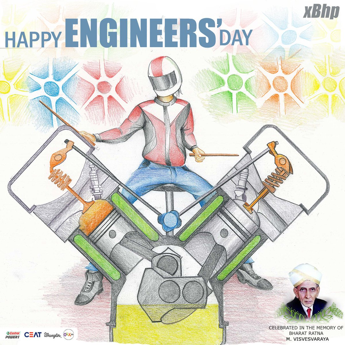 You guys make our dreams come true! You guys are awesome! Happy Engineers' Day to all the engineers here! https://t.co/qeNz7Mi7dA