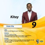 Please Friends, see details of voting with all 3 options in the banner. My chances of winning are in your hands only https://t.co/7cw44tUnk0
