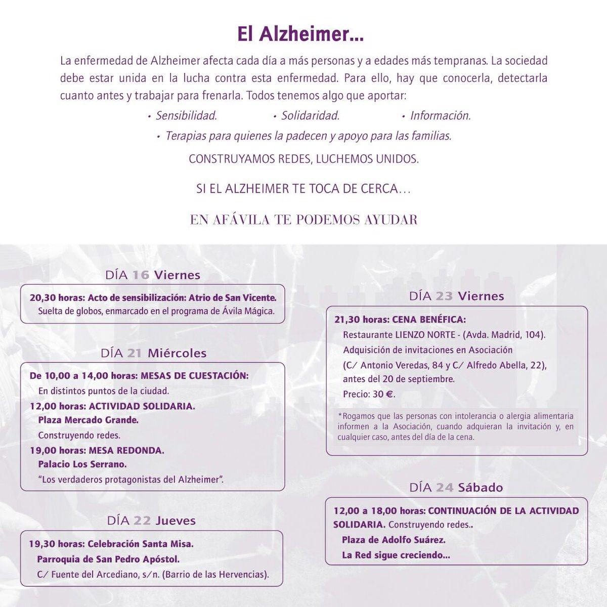 #DiaMundialDelAlzheimer: Dia Mundial Del Alzheimer