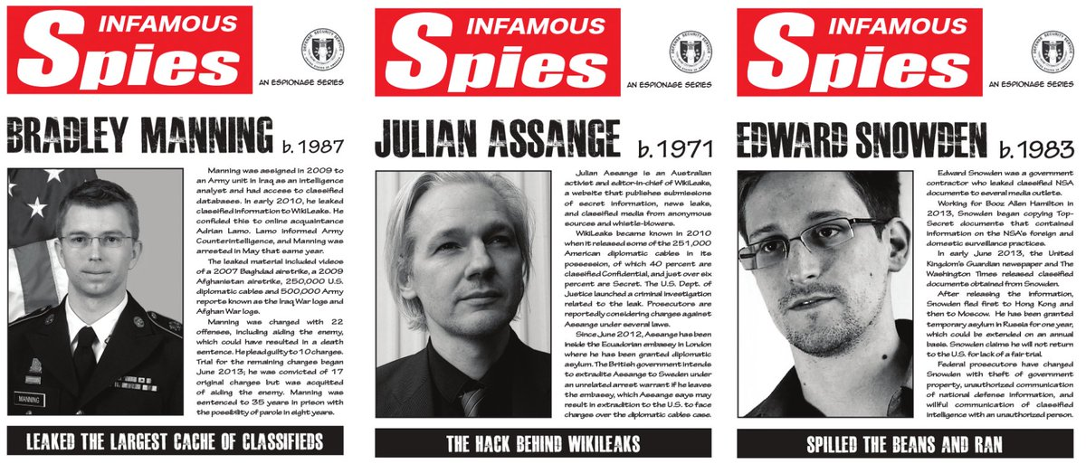Image result for Manning, Snowden and assange