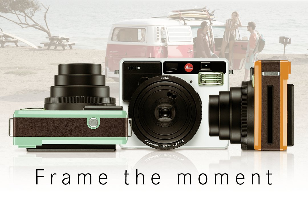Discover pure analogue photography with the brand new instant camera #LeicaSofort: https://t.co/Oz5Q6Ykp4F https://t.co/NZagP6OJGi