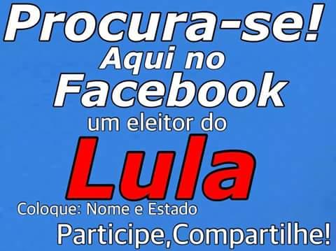 #SomosTodosLula: Somos Todos Lula